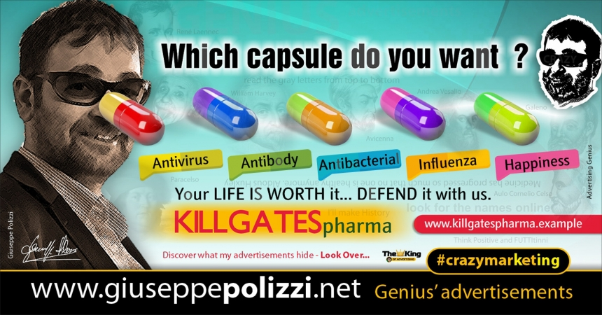 Giuseppe Polizzi Crazymarketing which capsule advertisements