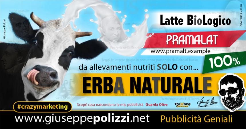 giuseppe polizzi pubblicità Erba Naturale Crazy Marketing  2021
