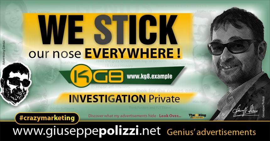 giuseppe polizzi advertising we stick Crazy Marketing  2021