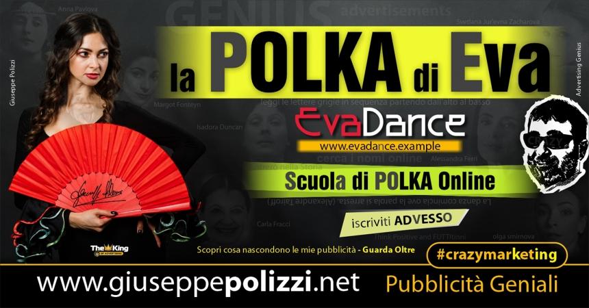 giuseppe polizzi Polka Eva Crazy Marketing  2021