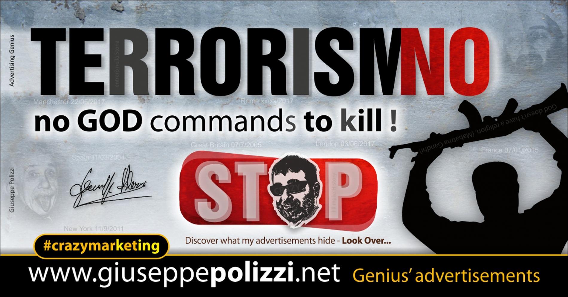 giuseppe polizzi TerrorismNO crazy marketing genius  2017