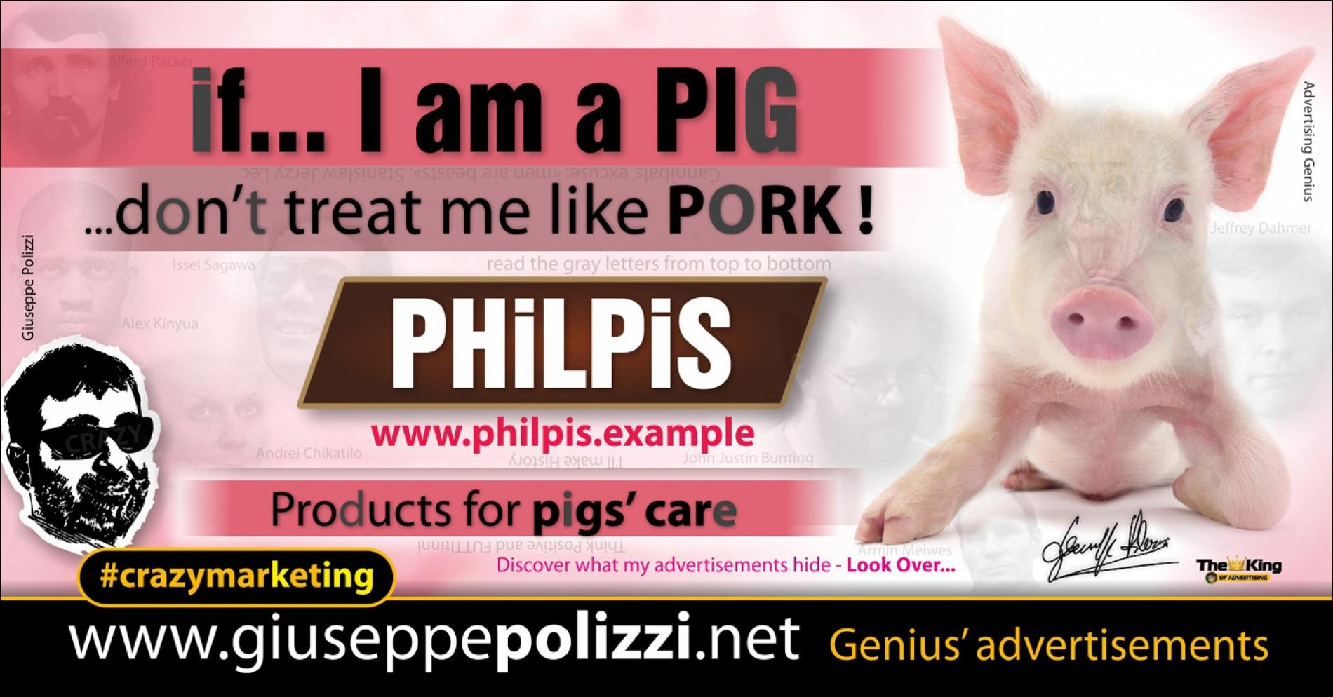 giuseppe Polizzi Pig Pork crazymarketing pubblicita geniali