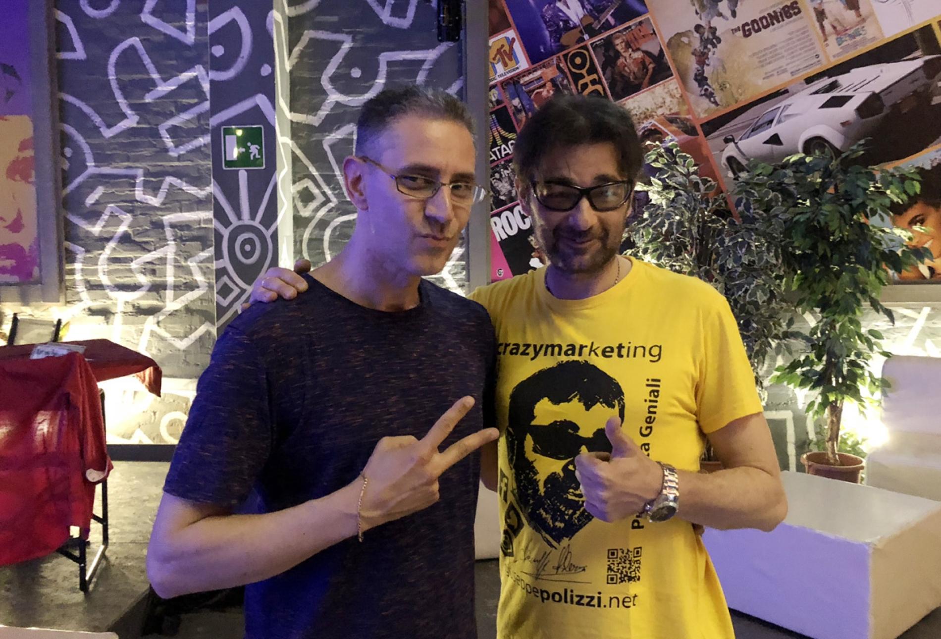Max Coccobello e Giuseppe Polizzi crazymarketing