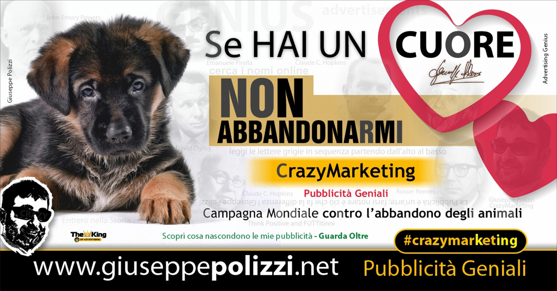 Giuseppe Polizzi Crazymarketing Se hai un CUORE pubblicità geniali