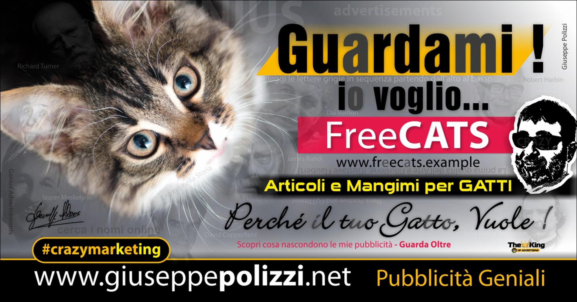 giuseppe Polizzi Guardami crazymarketing pubblicita geniali