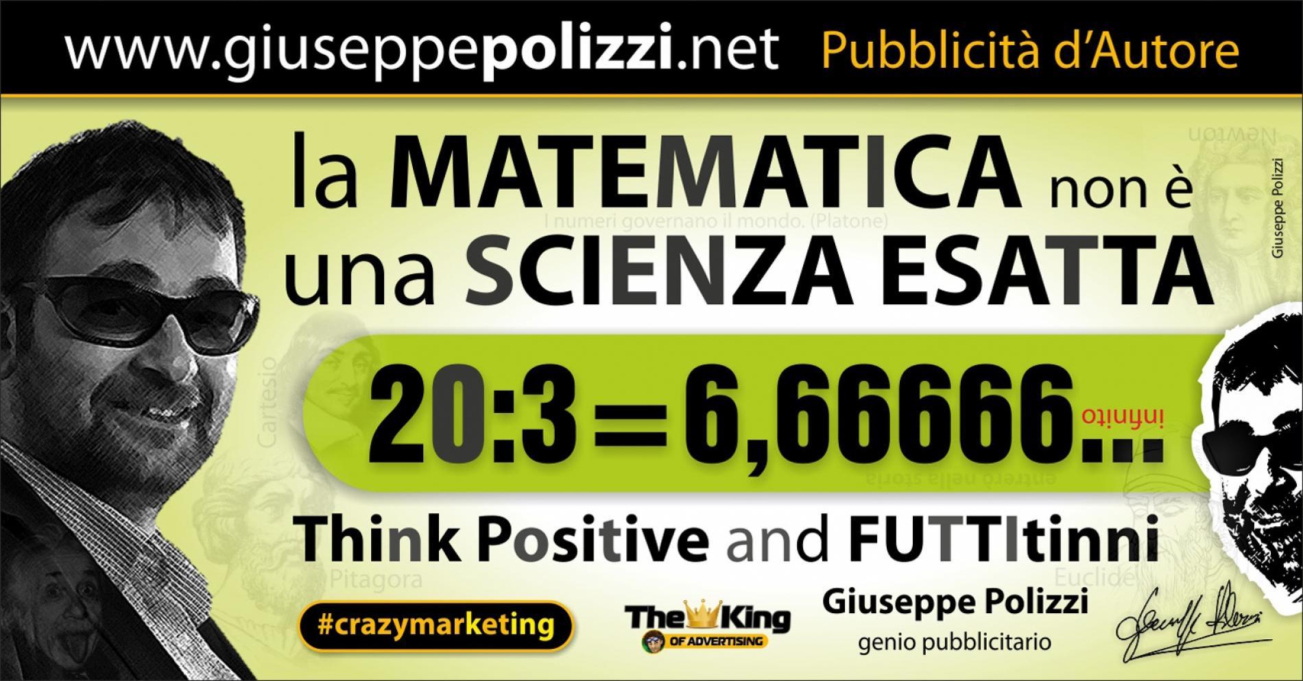 giuseppe polizzi aforismi  Matematica 2016 crazy marketing
