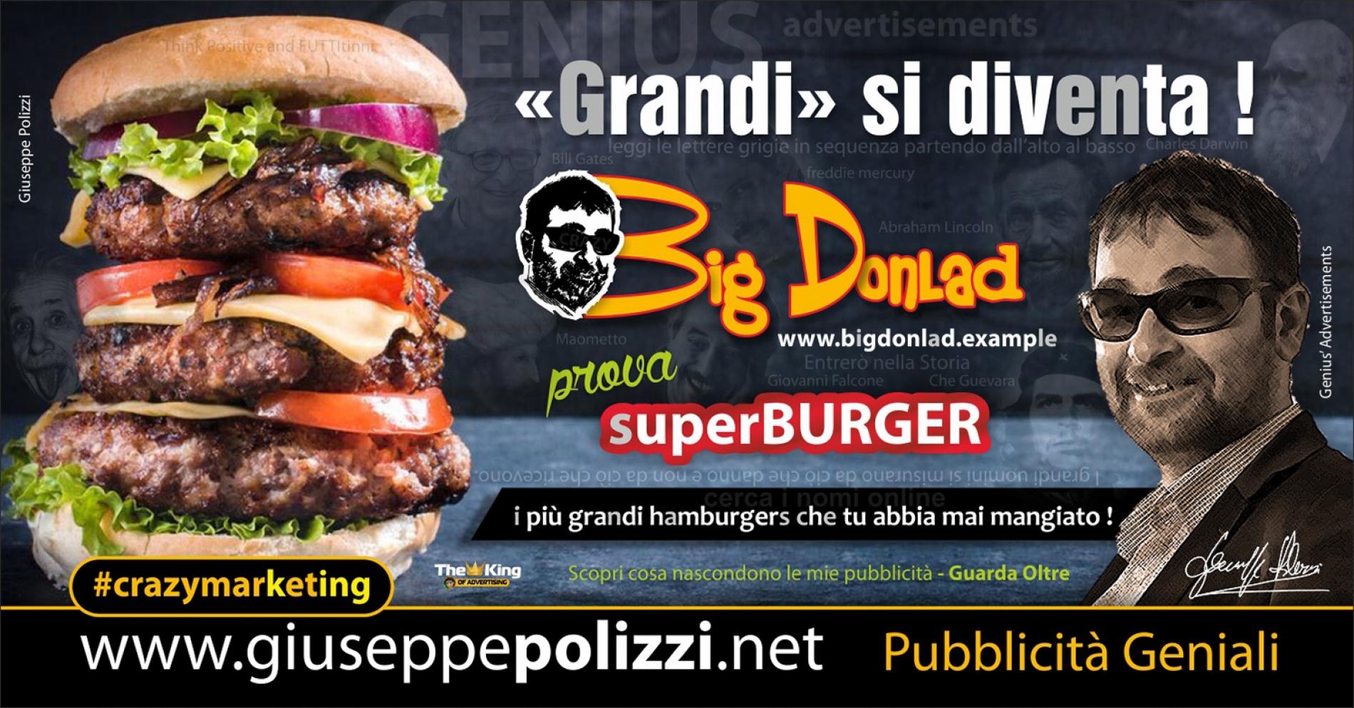 giuseppe Polizzi crazymarketing Grandi si diventa  pubblicità geniali