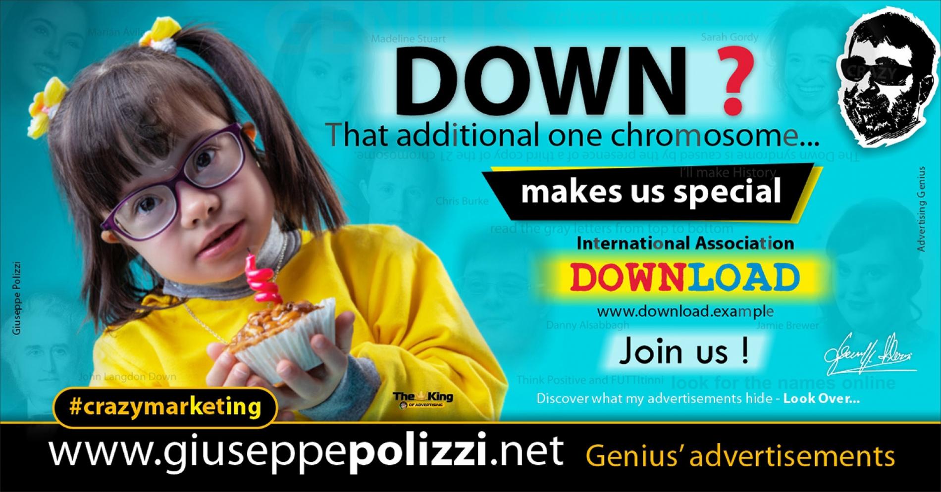 giuseppe polizzi crazymarketing DOWN advertisements