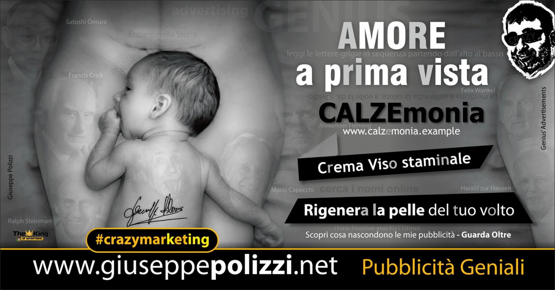 Giuseppe Polizzi crazymarketing Amore a prima vista  pubblicità geniali