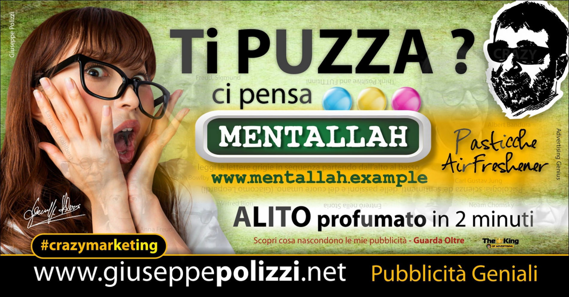 giuseppe Polizzi TI PUZZA crazymarketing genius