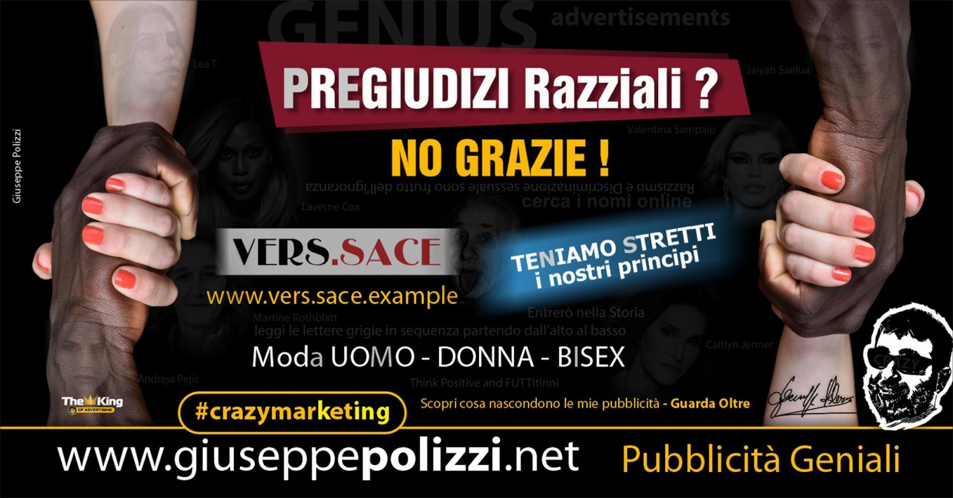 Giuseppe Polizzi Crazymarketing Pregiudizi Razziali Pubblicità geniali
