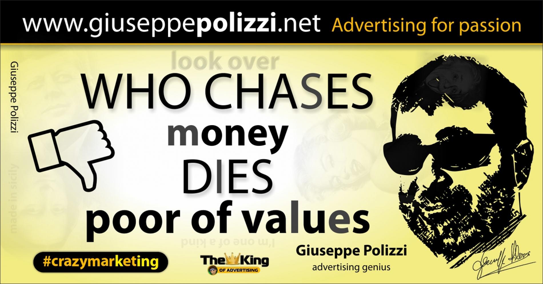 giuseppe polizzi aforismi danaro money 2016 crazy marketing inglese