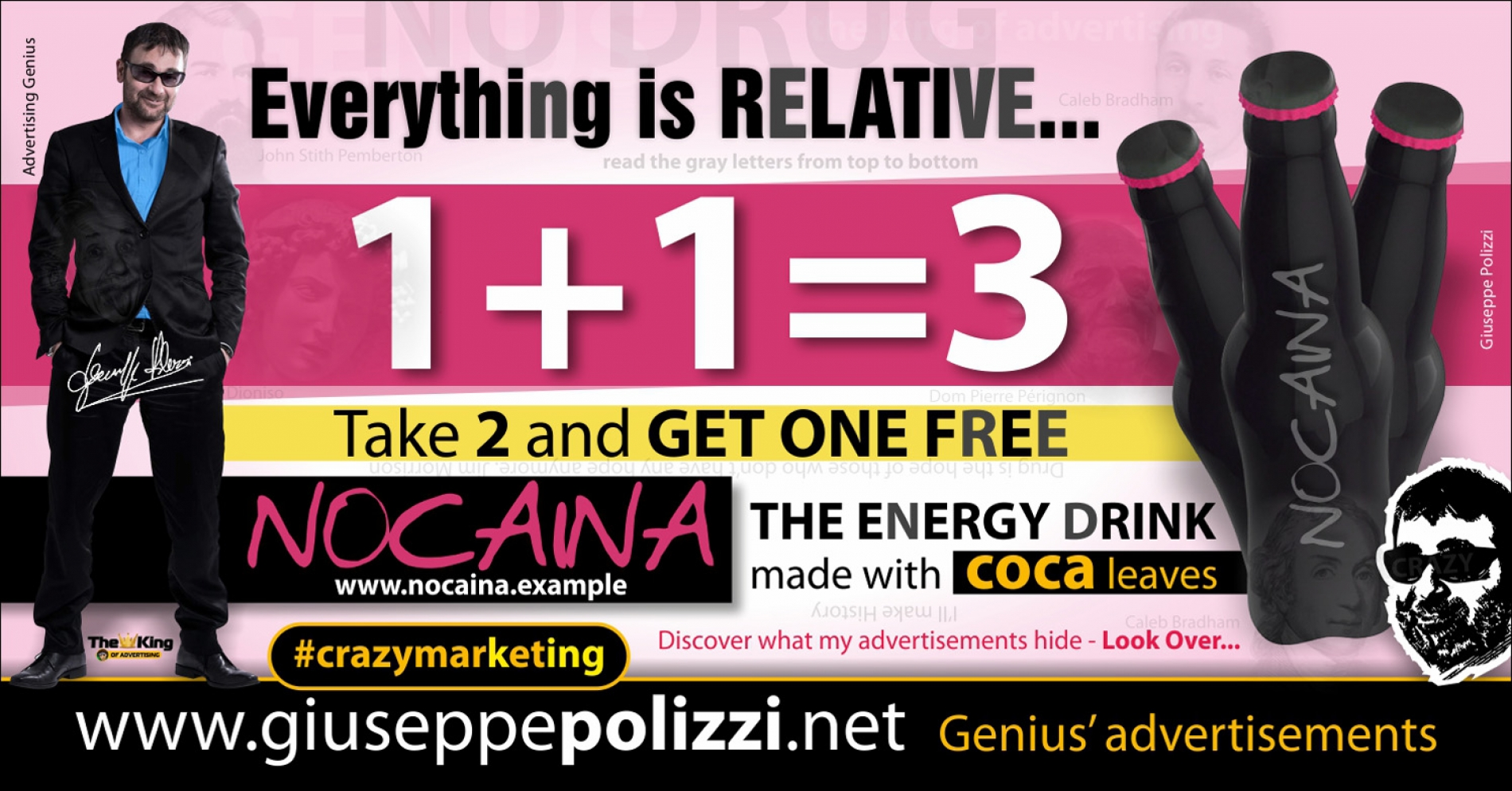 giuseppe polizzi advertisement NOCAINA crazy marketing genius  2017