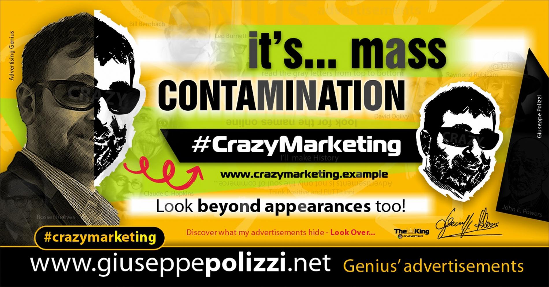 giuseppe polizzi advertising Contamination Crazy Marketing  2020
