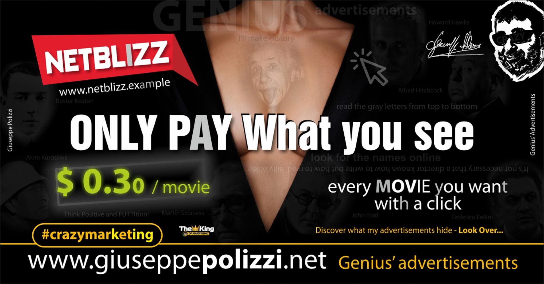 giuseppe polizzi crazymarketing Only Pay what you see 2018 advertising
