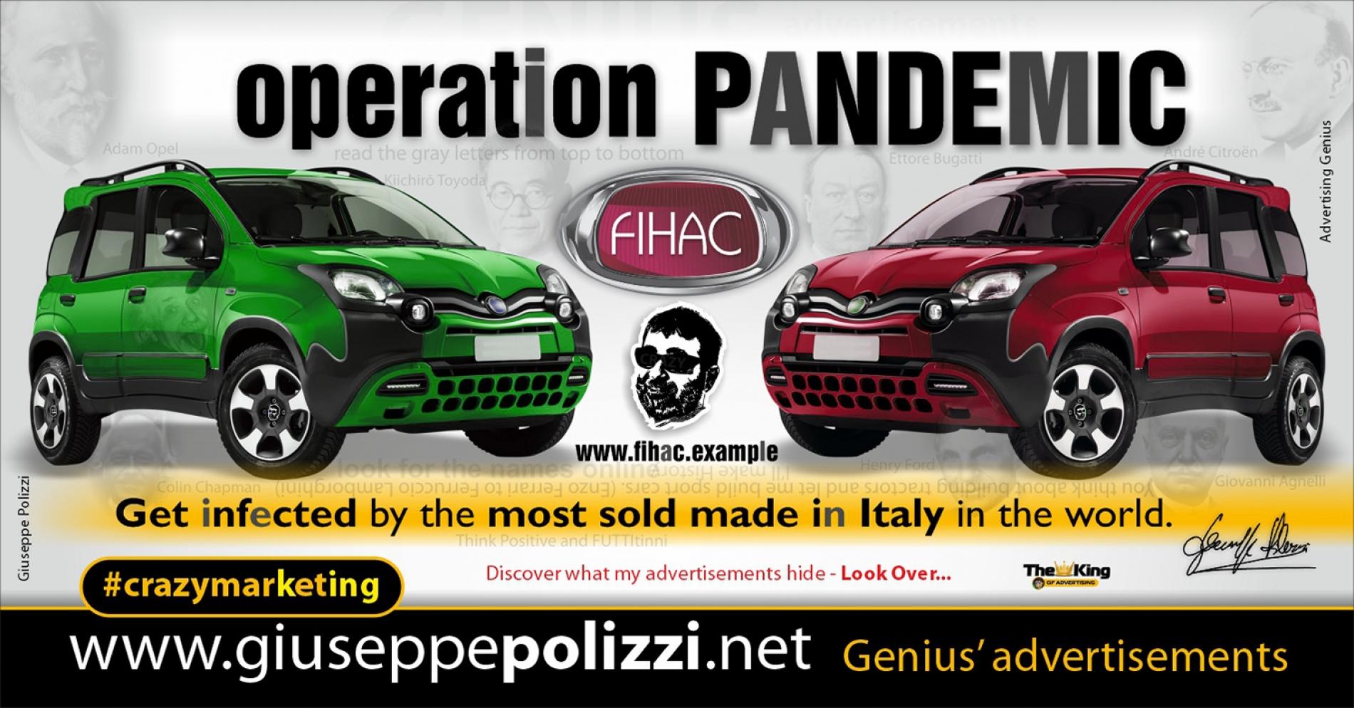 giuseppe polizzi advertising operation pandemic Crazy Marketing  2020