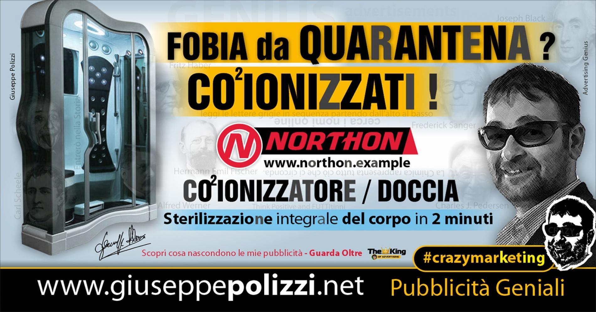 giuseppe polizzi pubblicità Fobia da quarantena Crazy Marketing  2020