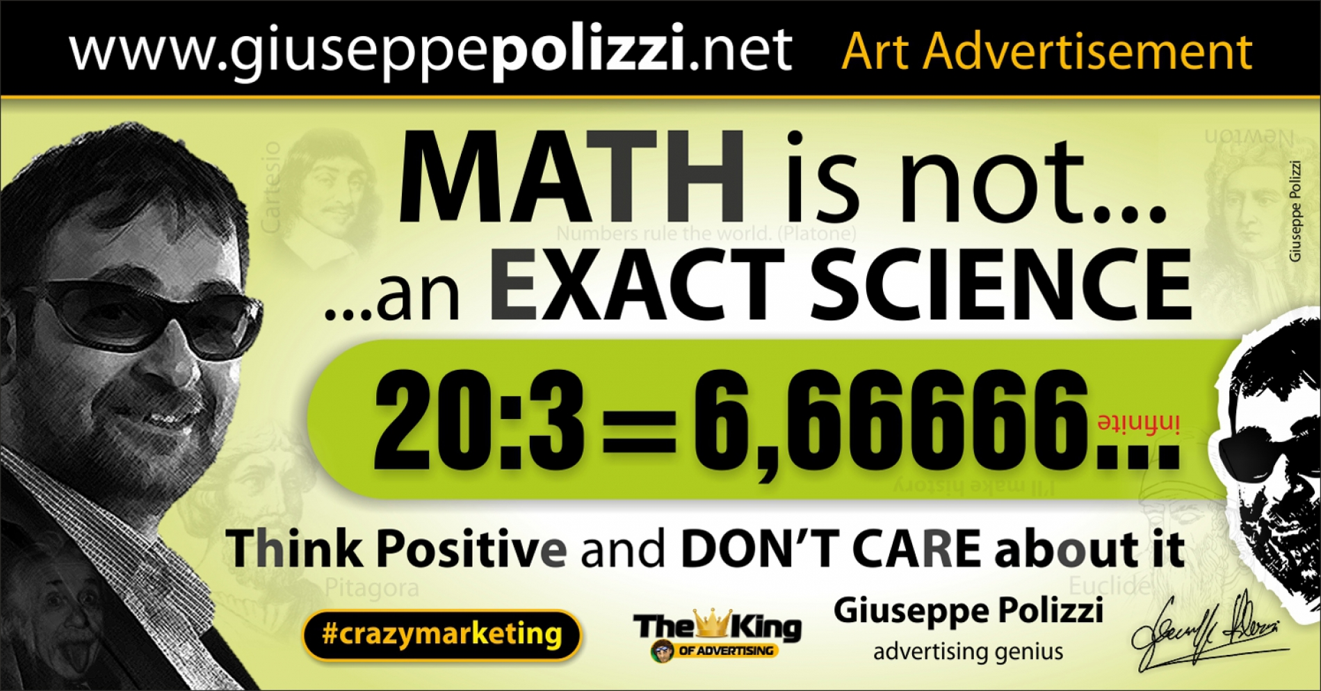 giuseppe polizzi aphorisms  MATH 2016 crazy marketing inglese