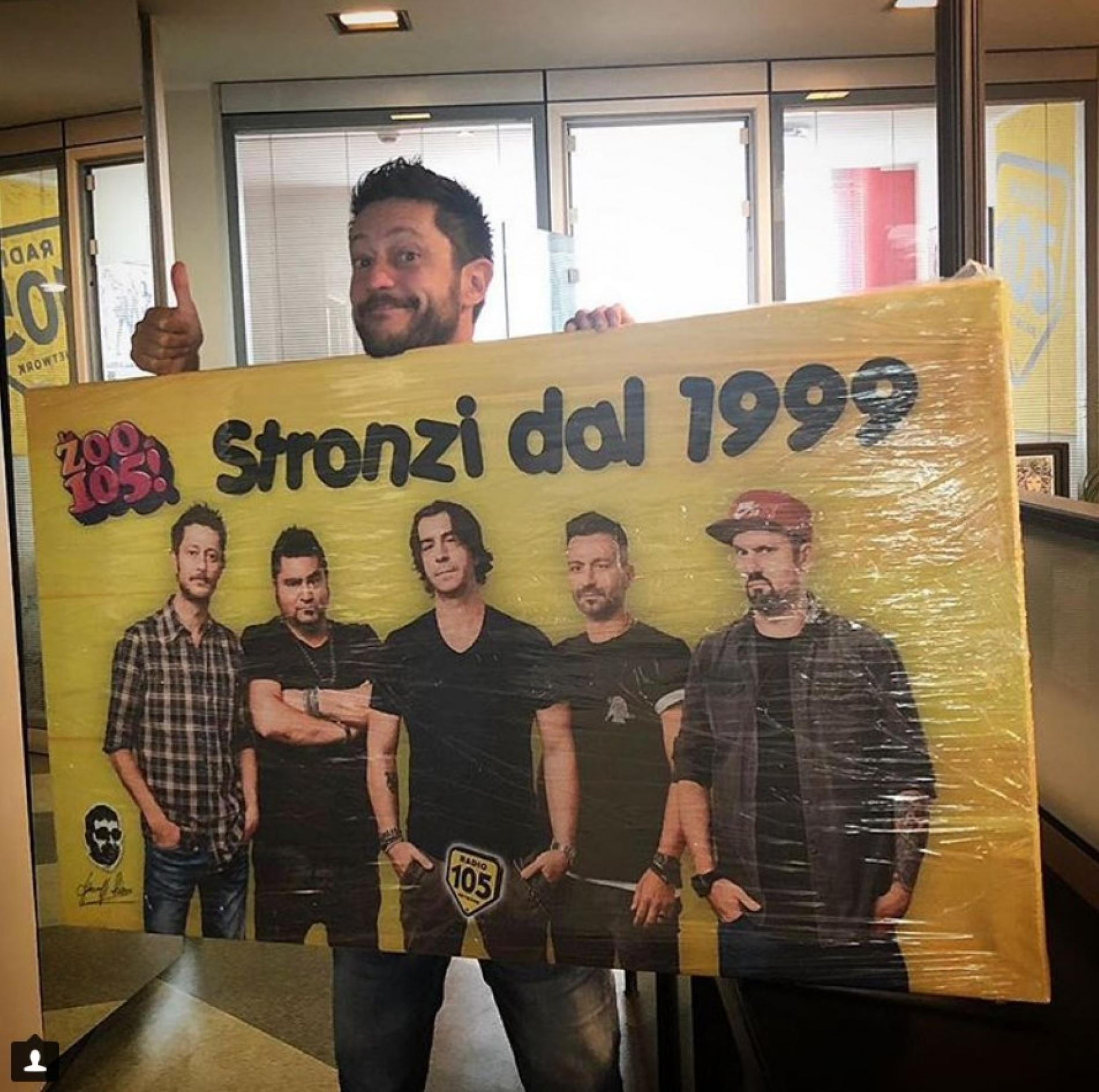 Staff Radio 105 - Fabio Alisei Giuseppe Polizzi Crazymarketing pubblicità Geniali