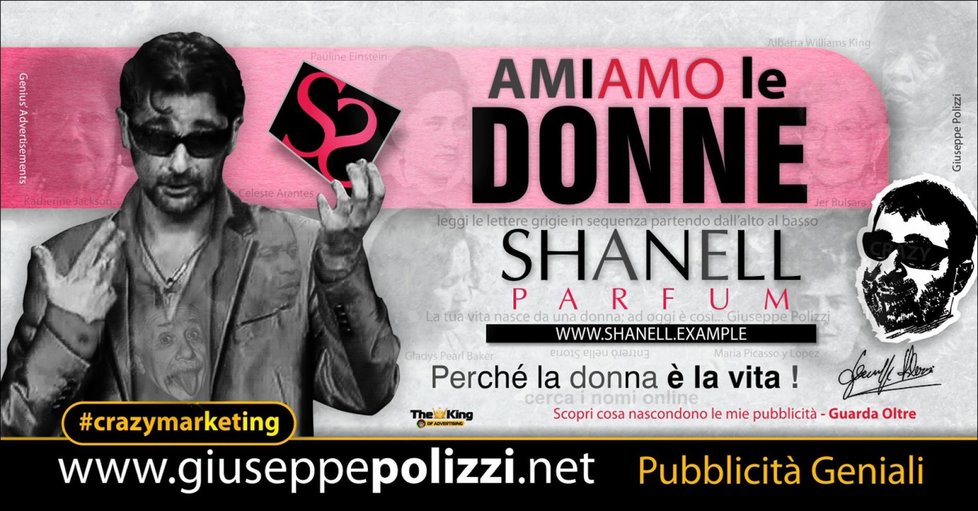 giuseppe Polizzi AmiAmo le donne crazymarketing pubblicita geniali