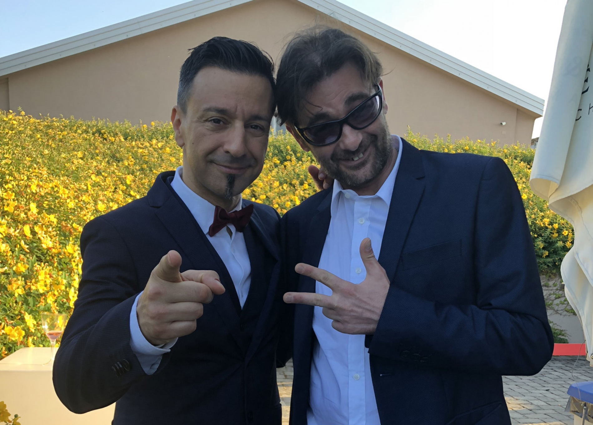 Pippo Palmieri e Giuseppe Polizzi Crazymarketing pubblicita
