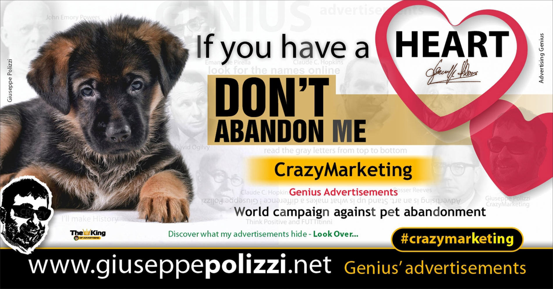 Giuseppe Polizzi CrazymarketingI If you have a heart advertisements eng