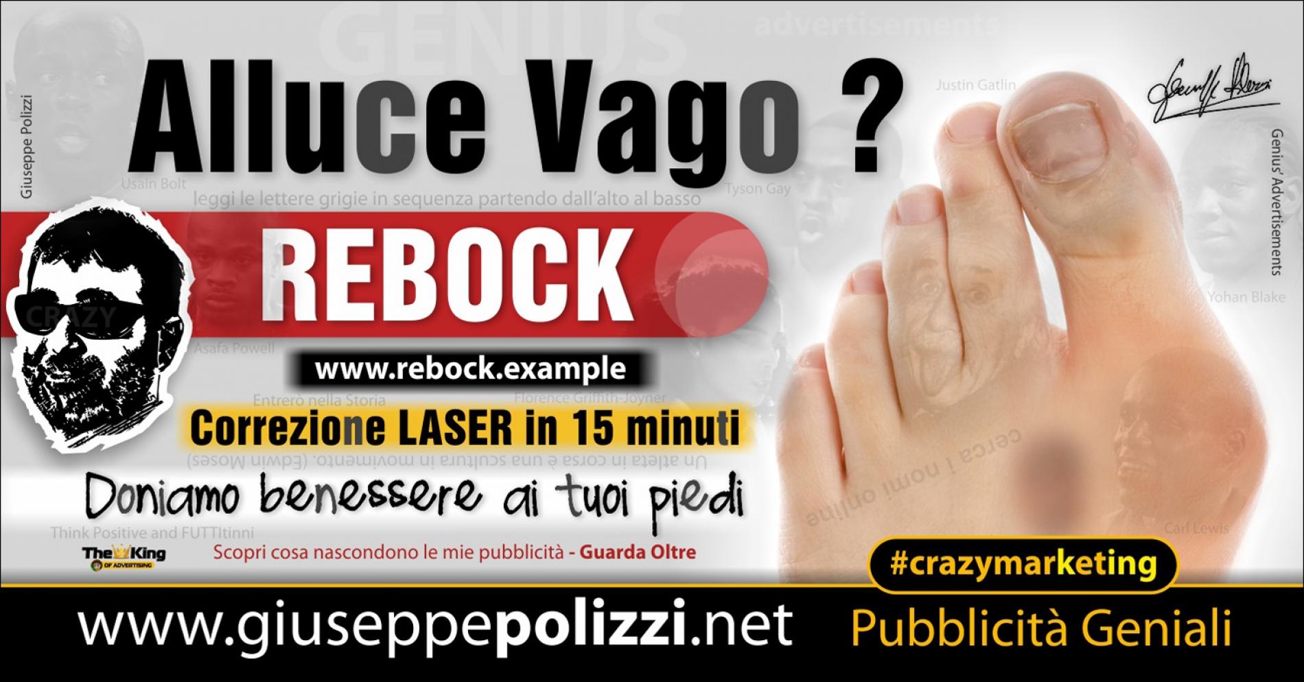 giuseppe Polizzi Alluce Vago crazymarketing pubblicita geniali