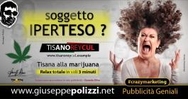 Giuseppe Polizzi Crazymarketing IPERTESO pubblicità geniali