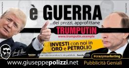giuseppe Polizzi pubblicita E' Guerra crazymarketing genius