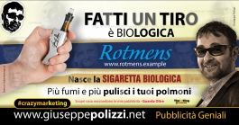 giuseppe Polizzi crazymarketing Fatti un TIRO pubblicità geniali