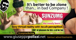 giuseppe polizzi it's better to be alone crazy marketing genius  2017