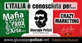 giuseppe polizzi pubblicità ITALIA crazy marketing genius  2016