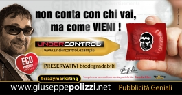 Giuseppe Polizzi Crazymarketing Conta come Vieni pubblicità geniali