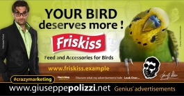 giuseppe polizzi crazymarketing Your Bird genius  2018 advertising