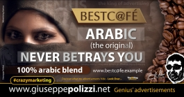 giuseppe polizzi ARABIC never betrays you crazy marketing genius  2017