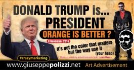 giuseppe polizzi pubblicità donald trump crazy marketing  nov 2016 inglese