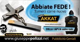Giuseppe Polizzi crazymarketing Abbiate Fede  pubblicità geniali