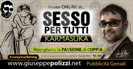 Giuseppe Polizzi Crazymarketing Sesso per Tutti  pubblicità geniali