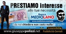 giuseppe Polizzi Prestiamo Interesse crazymarketing pubblicita geniali