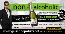 giuseppe polizzi non-alcoholic crazymarketing genius  2018 advertising