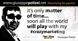 giuseppe polizzi crazy marketing aforismi aphorism genio genius 2016 crazymarketing inglese