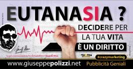 giuseppe polizzi pubblicità EUTANASIA crazy marketing genius