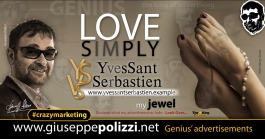 giuseppe Polizzi Christmas LOVE Simply crazymarketing genius ing