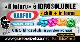 giuseppe Polizzi Il futuro è Idrosolubile crazymarketing genius