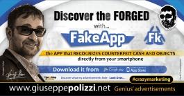 giuseppe polizzi crazymarketing The Forged genius  2018 advertising