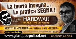 giuseppe Polizzi La PRATICA SEGNA crazymarketing genius