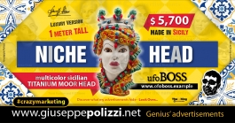 Giuseppe Polizzi Crazymarketing Niche Head advertisements