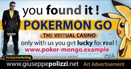 giuseppe Polizzi Pokermon GO  crazymarketing genius ing