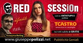 Giuseppe Polizzi Crazymarketing Red SESSiOn pubblicità geniali