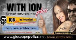 giuseppe polizzi crazymarketing With Ion Plus 2018 advertising